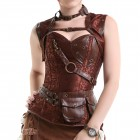 CORSET STEAMPUNK POCKETS