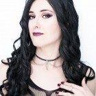 Choker with Chain and Cross