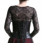 Special Closures Black Corset