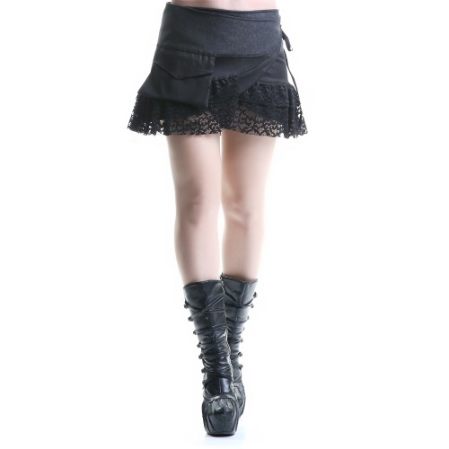 Short Asymmetric Skirt