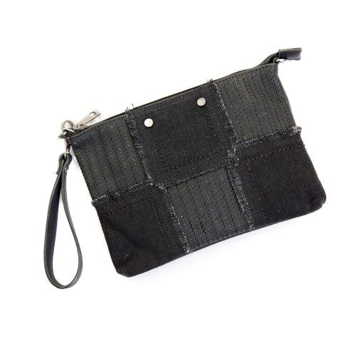 Black and Grey Bag