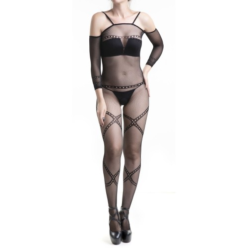 Catsuit Made of Mesh