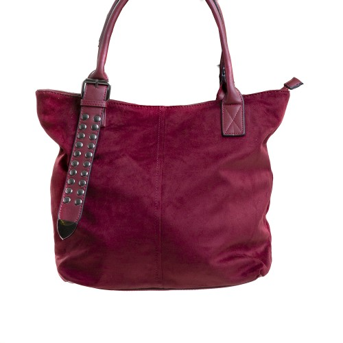 Red Bag with Studs