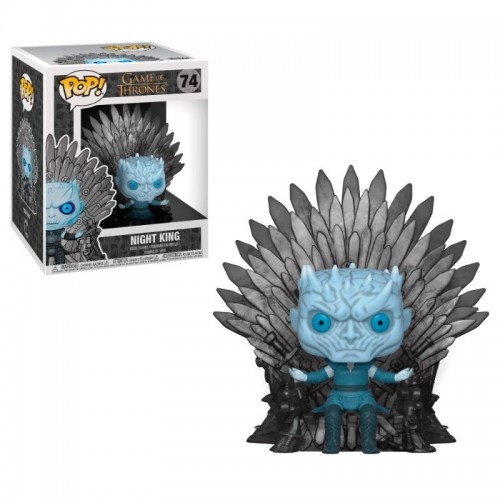 "POP! VINYL GAME OF THRONES - NIGHT KING 6"" FIGURE - 74"