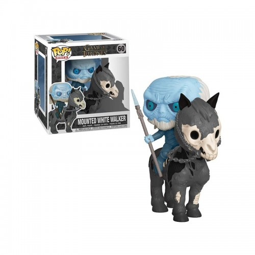 WHITE WALKER ON HORSE POP! RIDES VINYL